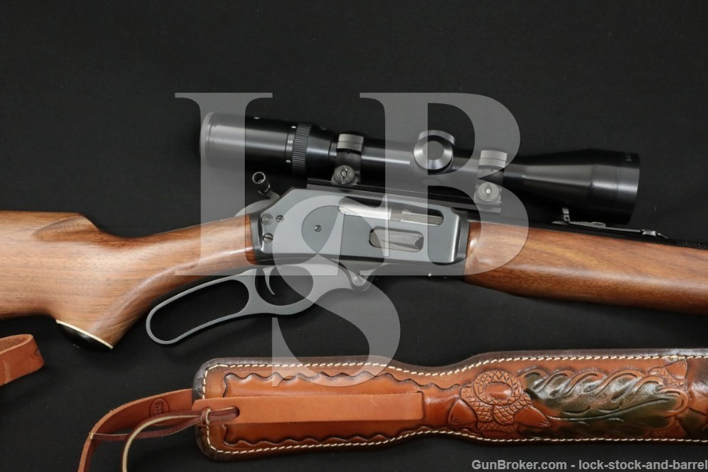 """Marlin Firearms Co. Model 444SS .444 22"""" JM Marked Lever Action Rifle, 1990"""