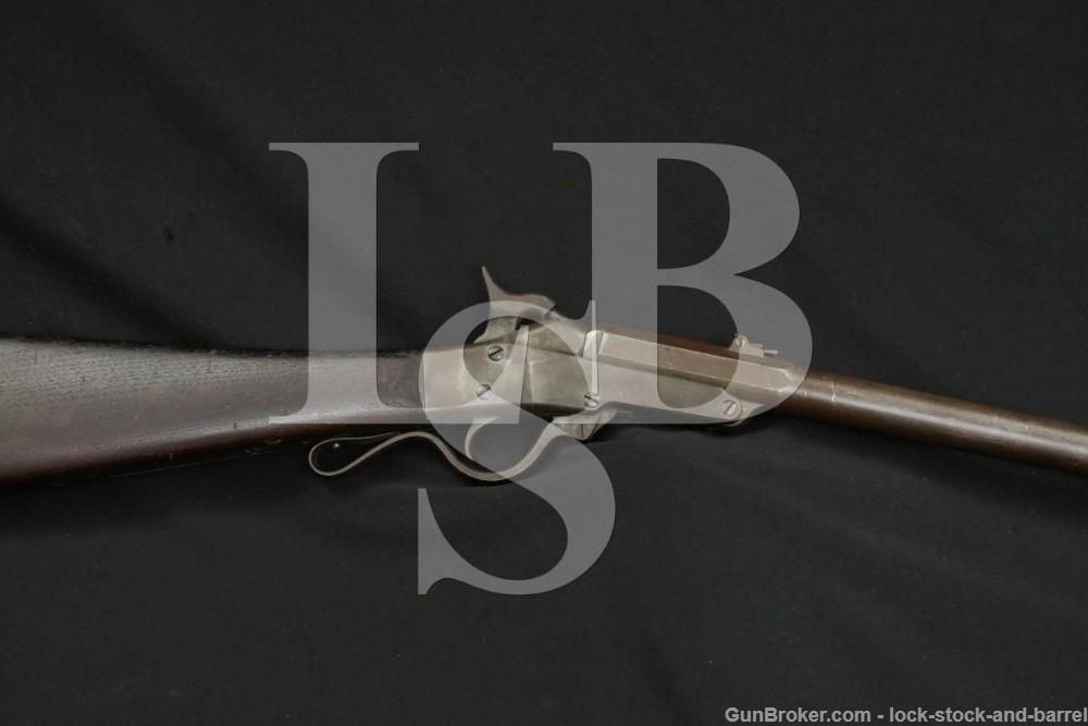 Massachusetts Arms Co Civil War Maynard 1863 2nd Model Carbine 50 Cal Rifle