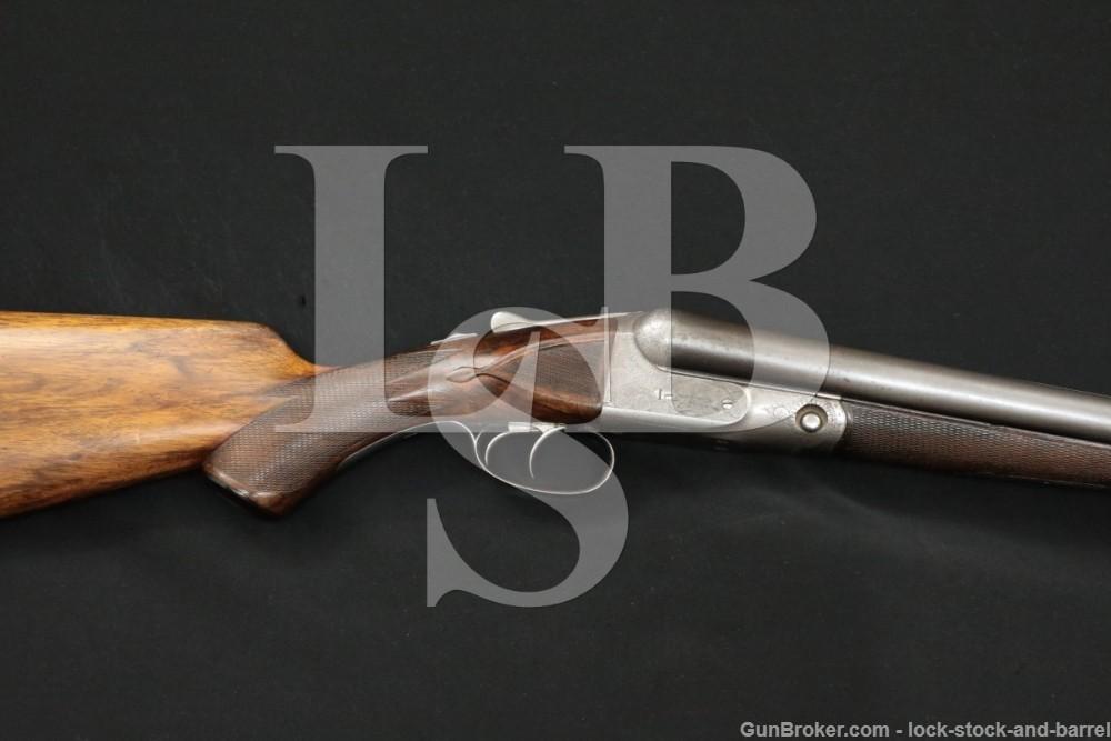 Parker Bros DH Grade TI3 Hammerless 12 GA SXS Side by Side Shotgun 1899 C&R