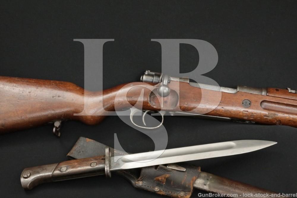 Polish 98AZ Carbine K98 Mauser 8mm Bolt Action Rifle Bayonet C&R