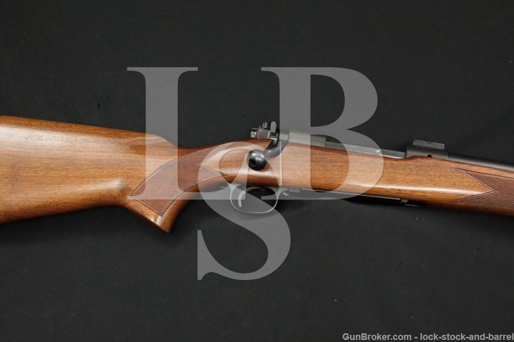 "Pre-64 Winchester Model 70 26"" Medium-Heavy .220 Swift Bolt Rifle, 1953 C&R"