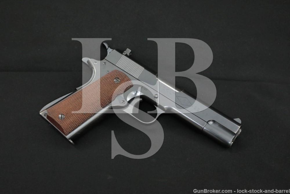 Pre-War Colt Commercial Ace 1911 .22 LR Semi-Automatic Pistol, MFD 1936 C&R