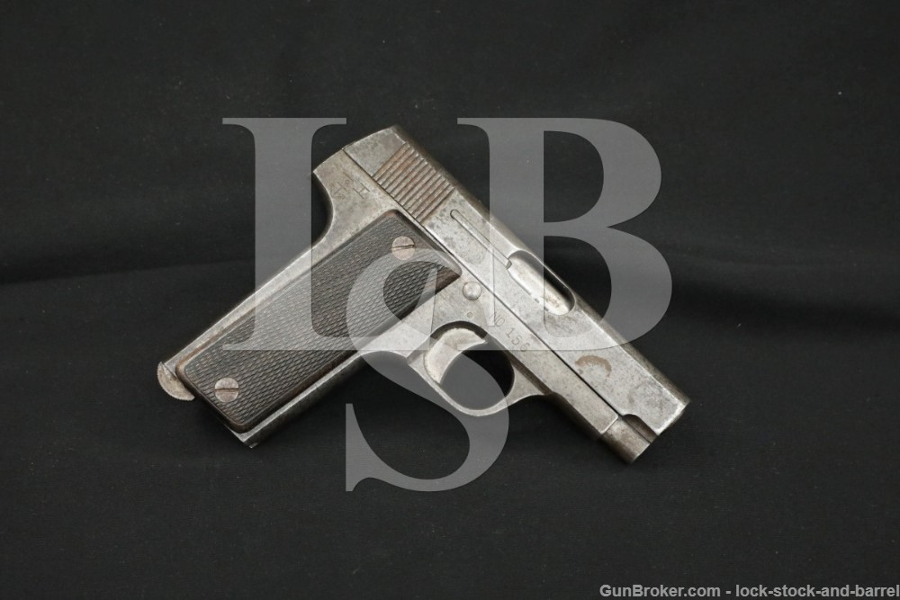 Rare Japanese Navy IJN Naval Marked Ruby 32 ACP 7.65mm Semi-Auto Pistol C&R