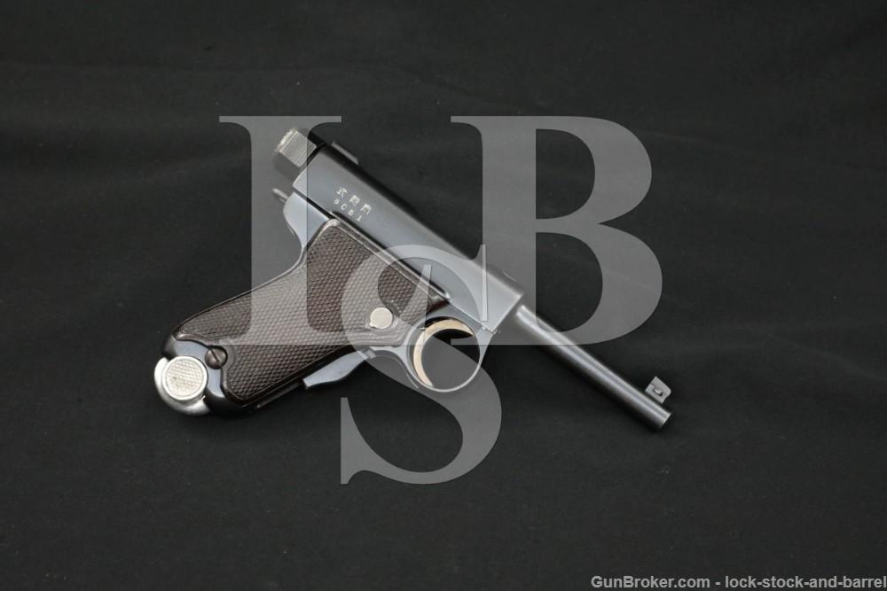 "Rare Japanese Tokyo Gas & Electric TGE Nambu Automatic Pistol Type B ""Baby"""