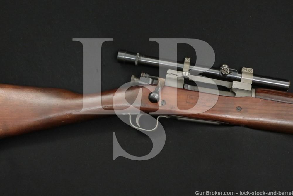 Remington 1903A3 03-A3 Sniper 4X Scope .30-06 Bolt Action Rifle C&R
