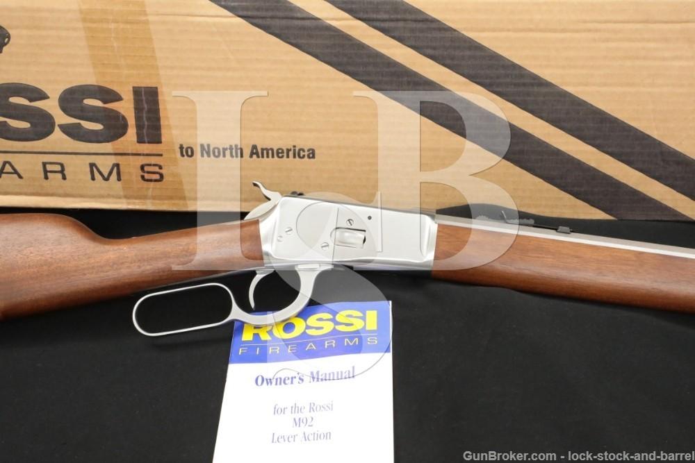 "Rossi Model 92 Mod-92 .44-40 WCF 24"" Octagon Barrel Lever Action Rifle"