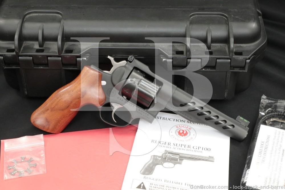 Ruger Custom Shop Super GP-100 GP100 05065 .357 Magnum DA/SA Revolver, 2019
