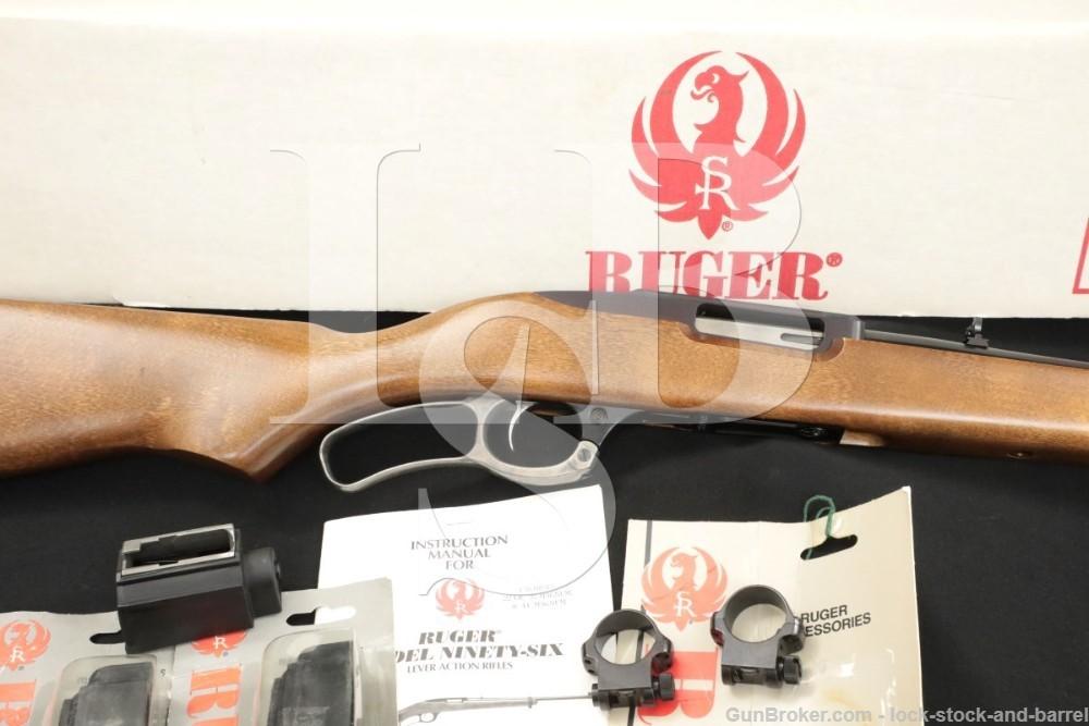 Ruger Ninety-Six 96/44 96-44 9644 06401 .44 Rem Mag Lever Action Rifle 1997