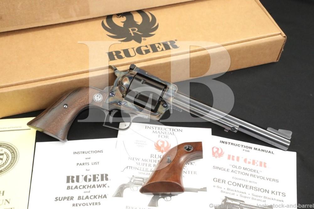Ruger Pre-Warning 3-Screw Super Blackhawk .44 Mag Case Color Revolver C&R