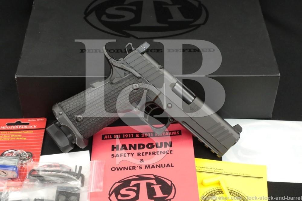 "STI International Model Tactical DS H.O.S.T. 9mm 4"" 2011 Semi-Auto Pistol"