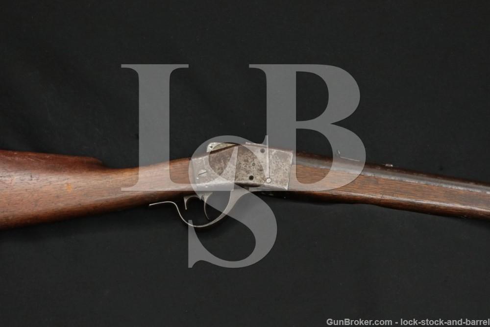 "Sharps Borchardt 1878 Single Shot Falling Block 26"" Rifle 1878-1881 Antique"