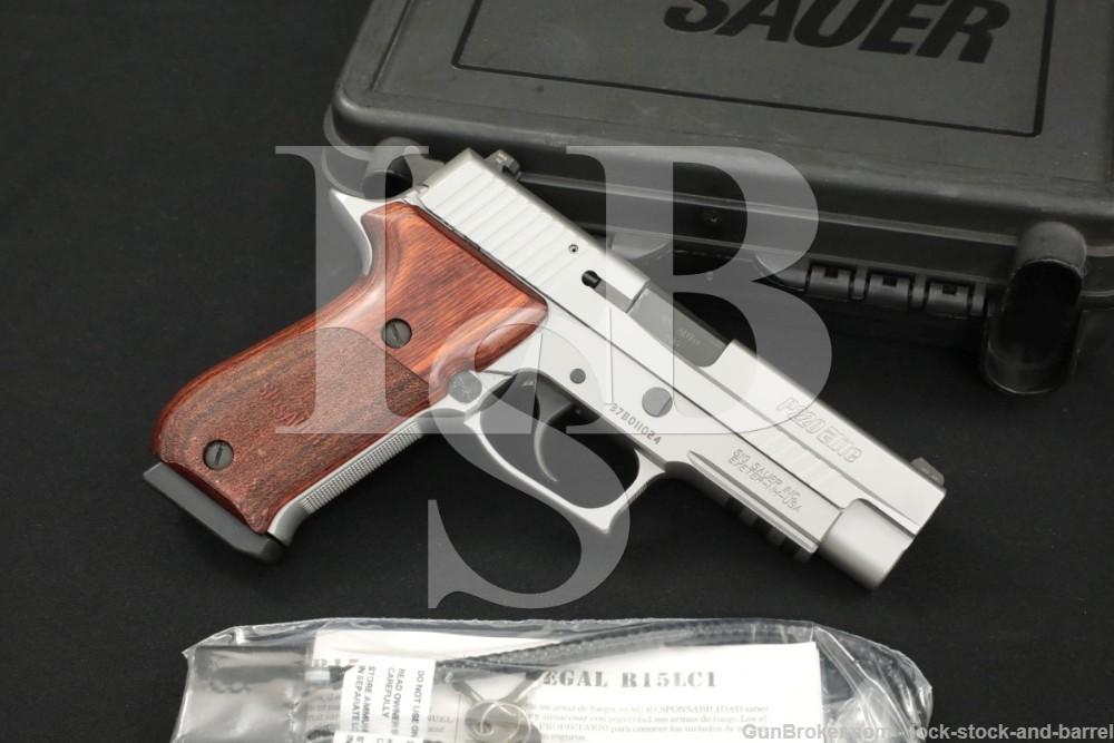 Sig Sauer P220 P-220 Elite Stainless .45 ACP Semi-Automatic Pistol & Box