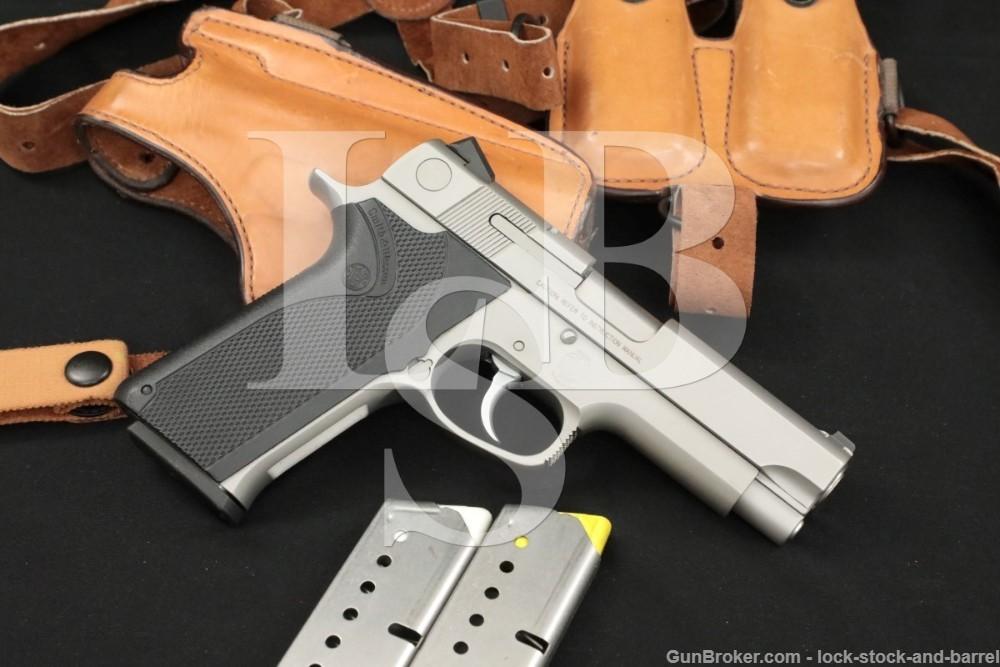 """Smith & Wesson S&W Model 1076 10mm 4.25"""" DA/SA Semi-Auto Pistol 1991"""