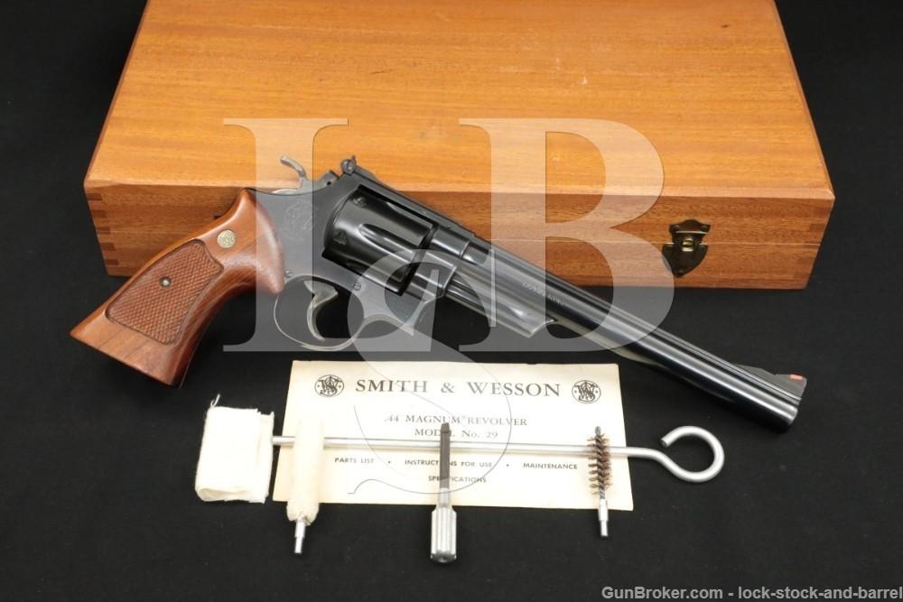 Smith & Wesson S&W Model 29-2 .44 Magnum 8 3/8″ DA/SA Revolver MFD 1980