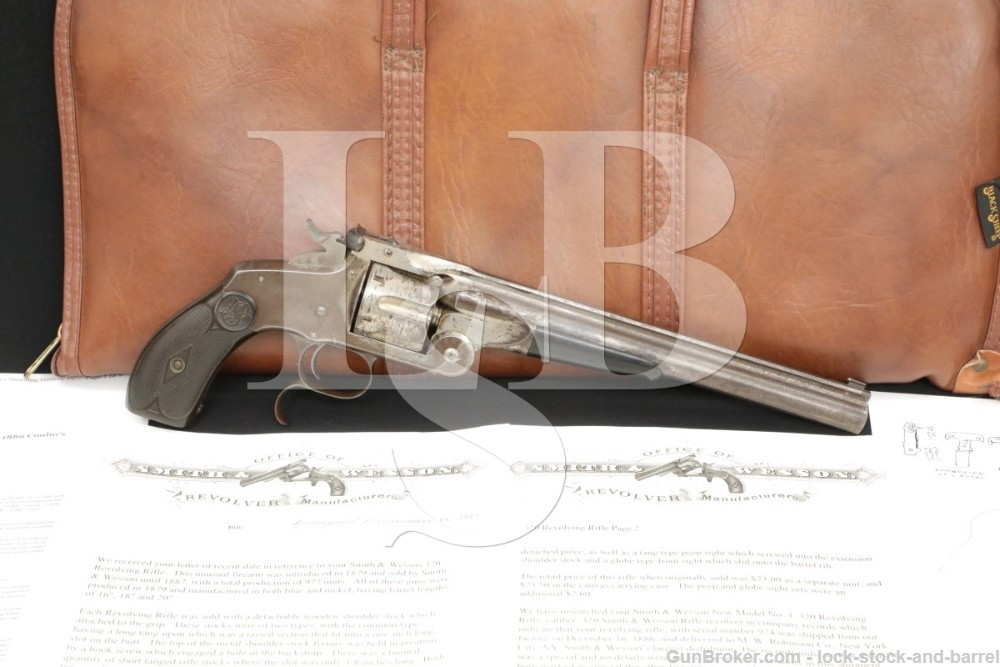 Smith & Wesson S&W Model 320 Revolving Rifle Conlins Shooting Gallery Prize