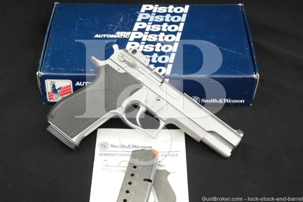 Smith & Wesson S&W Model 4506 .45 ACP 5″ DA/SA Semi-Automatic Pistol
