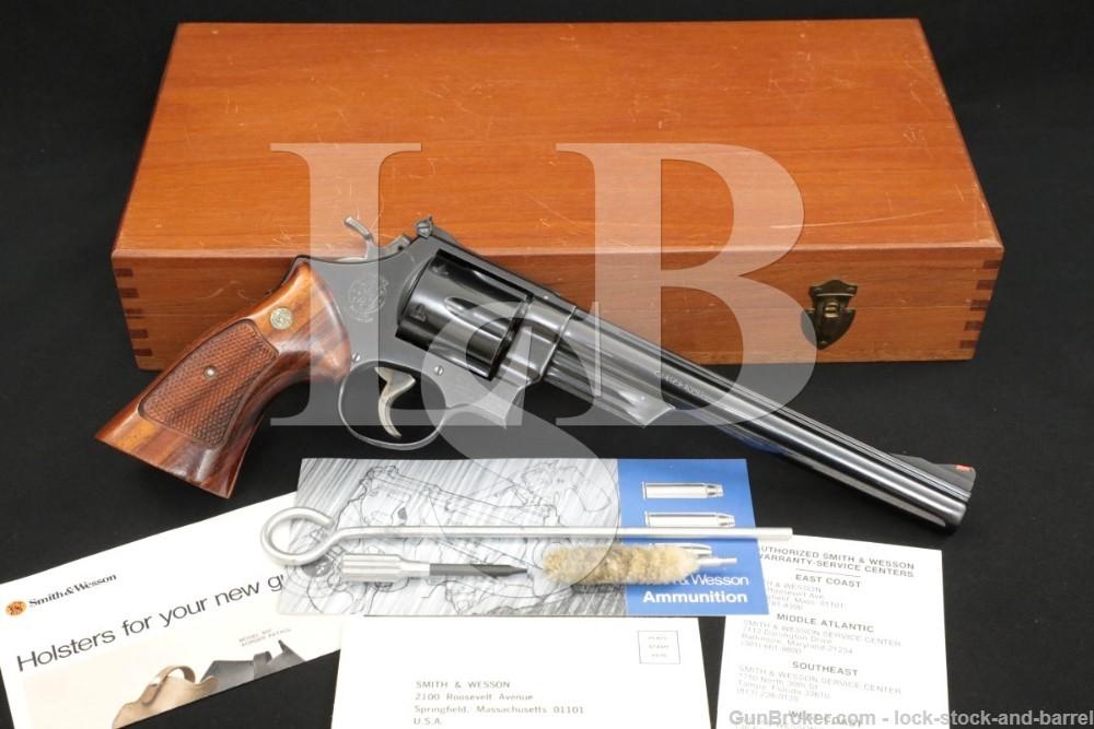 Smith & Wesson S&W Model 57 No Dash .41 Mag 8 3/8″ DA/SA Revolver 1979-1980