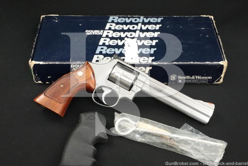 "Smith & Wesson S&W Model 686 No Dash .357 Mag 6"" DA/SA Revolver MFD 1983"