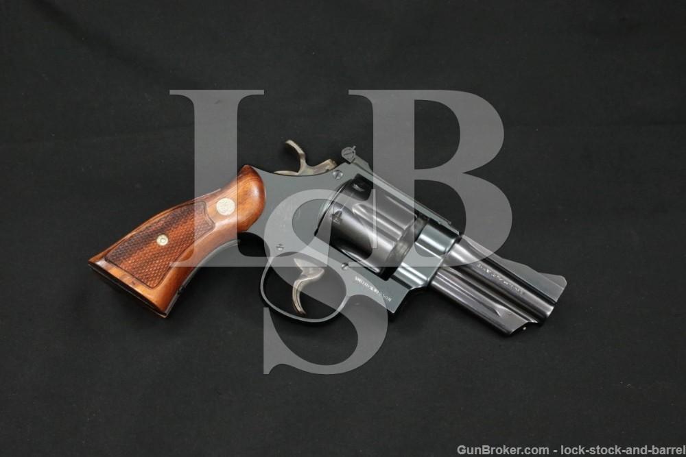 """Smith & Wesson S&W The .357 Magnum Pre-Model 27 3.5"""" DA/SA Revolver C&R"""