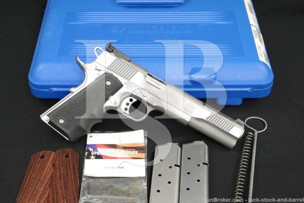 """Springfield 1911 V-16 V16 Long Slide 6"""" Ported Stainless Pistol Box PX9629L"""