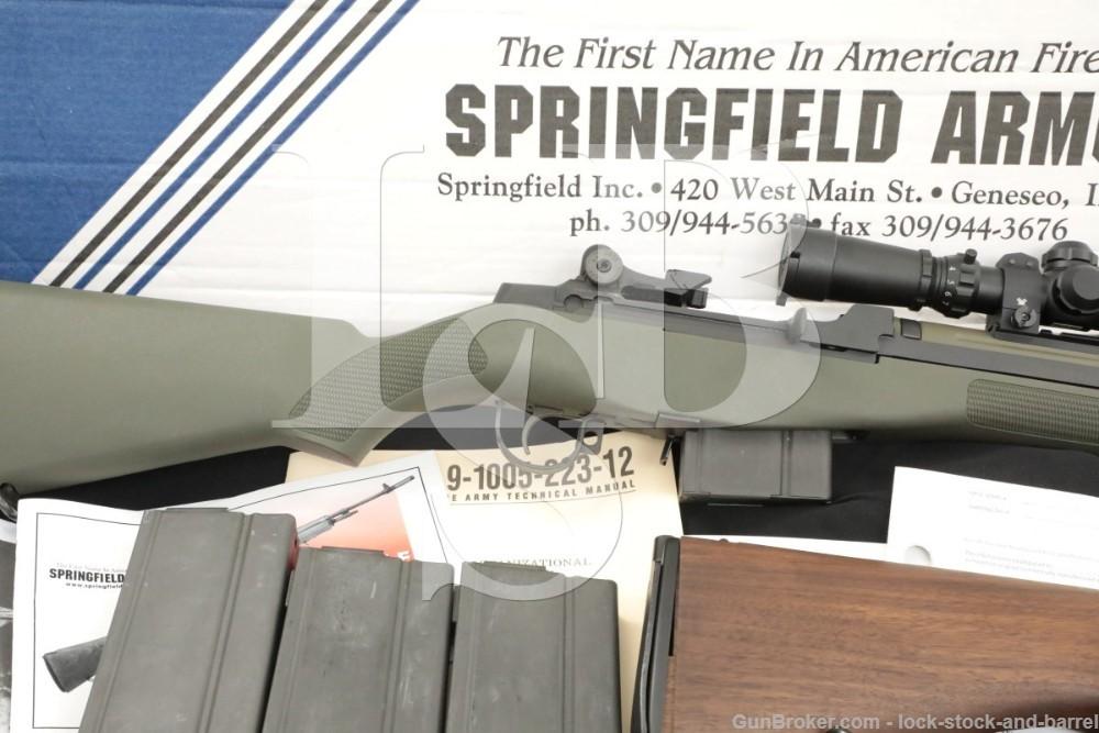 "Springfield Armory M1A Squad Scout .308 Winchester 18"" Semi-Auto Rifle 2013"