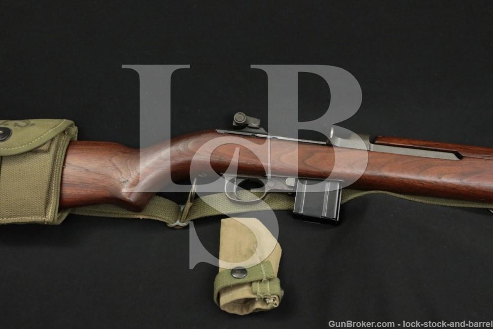 Standard Products M1 Carbine Matching .30 Semi Automatic Rifle MFD 1943 C&R