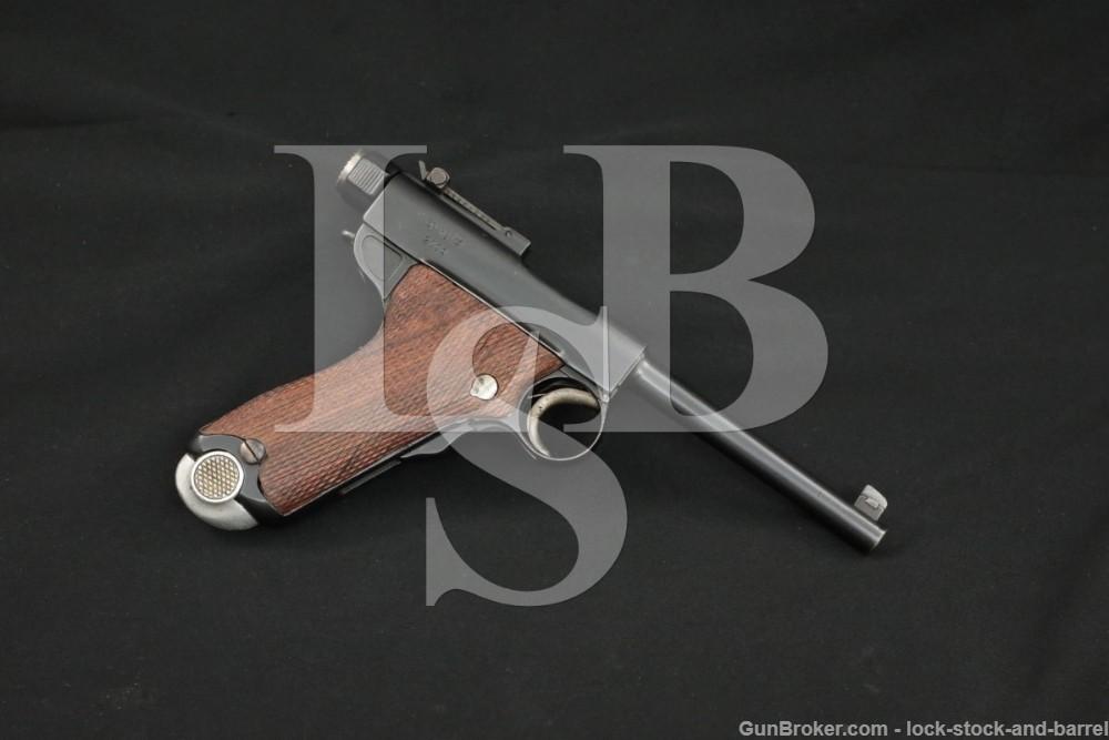 Tokyo Arsenal Japanese Type A Grandpa Nambu 8mm Semi-Automatic Pistol, C&R