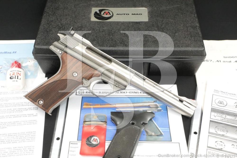 Trade Deed Estates TDE Auto Mag 180 .44 AMP Semi-Automatic Pistol, ATF C&R