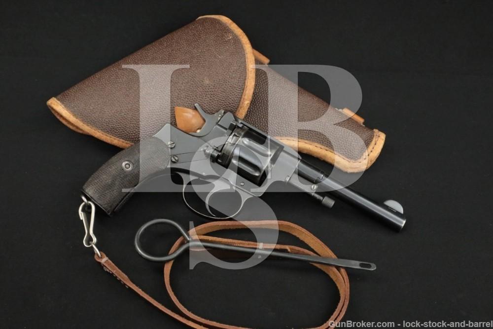 Tula Armory Nagant M1895 Model 1895 SA Revolver MFD 1901 C&R Imperial Seal