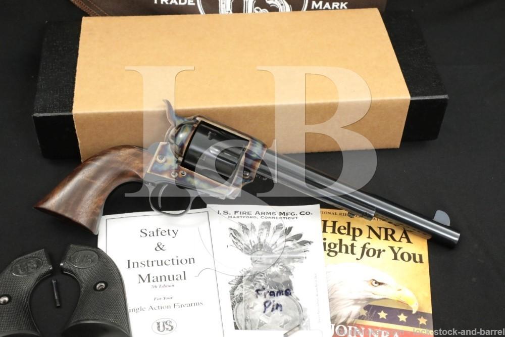 USFA U.S. Firearms USA Single Action Army SAA Blue 7 1/2″ .45 Colt Revolver