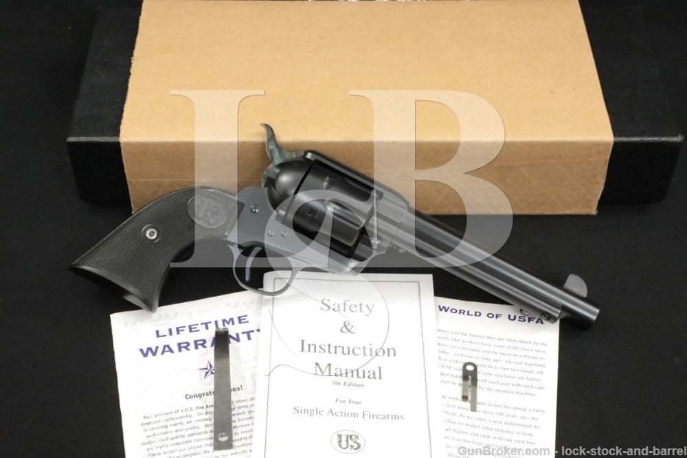 "USFA U.S. Firearms USA Single Action Army SAA Rodeo 5.5"" .45 Colt Revolver"