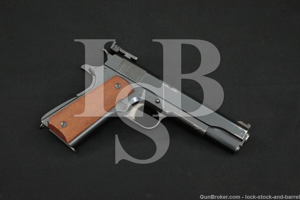 Union Switch & Signal/Remington Rand 1911A1 .45 ACP Semi-Auto Pistol, C&R