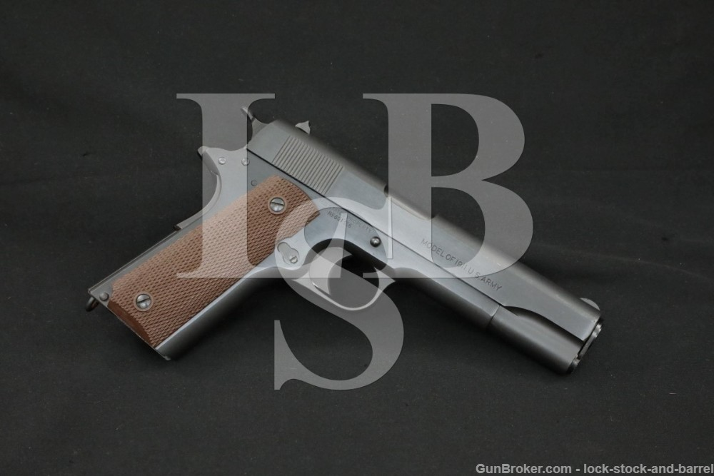 WWI Colt Model of 1911 U.S. Army .45 ACP Semi-Automatic Pistol, 1919 C&R