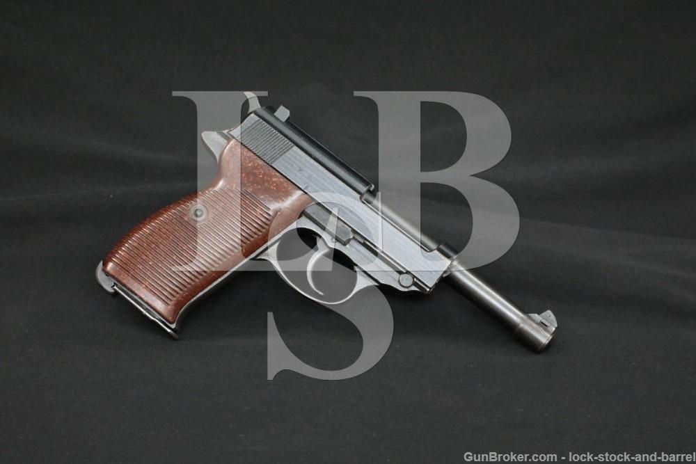 WWII German Spreewerke cyq P.38 P-38 P38 9mm Semi-Automatic Pistol 1943 C&R