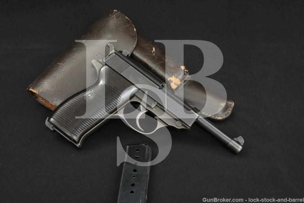 WWII German Walther P.38 P38 P-38 ac-43 ac43 9mm Semi-Auto Pistol, 1943 C&R