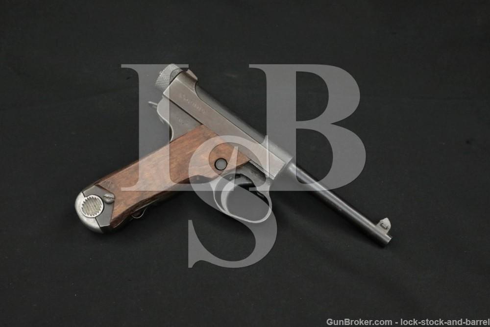 WWII Japanese Nagoya Toriimatsu Type 14 8mm Nambu Semi-Auto Pistol 1945 C&R