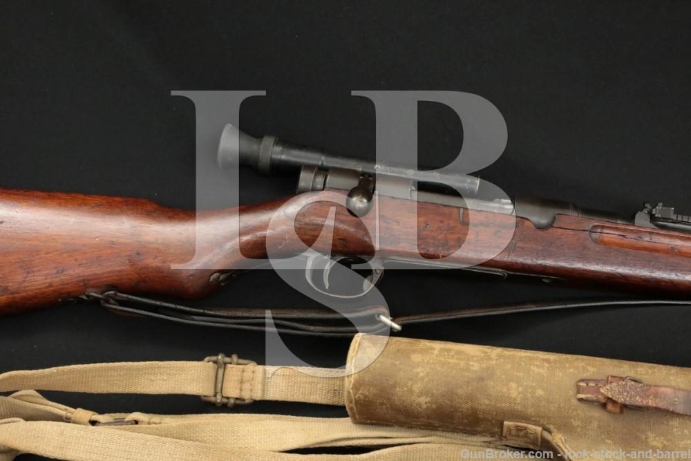 WWII Japanese Nagoya Type 97 6.5×50 Arisaka Mum Scoped Sniper Rifle, C&R