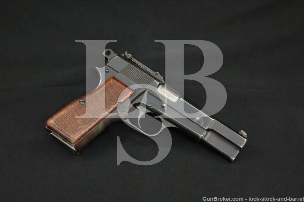 WWII Nazi FN Browning P35 Hi-Power 9mm Luger Semi-Auto Pistol 1941-1942 C&R