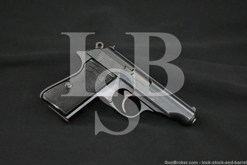 WWII Nazi German Walther PP .32 ACP Semi-Automatic Pistol Late War 1945 C&R