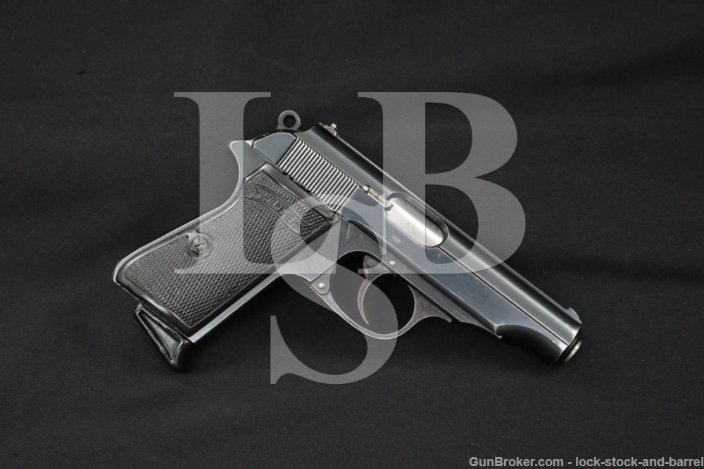 Walther RJ R.J. Marked PP .32 ACP/7.65mm Semi-Automatic Pistol, 1937 C&R