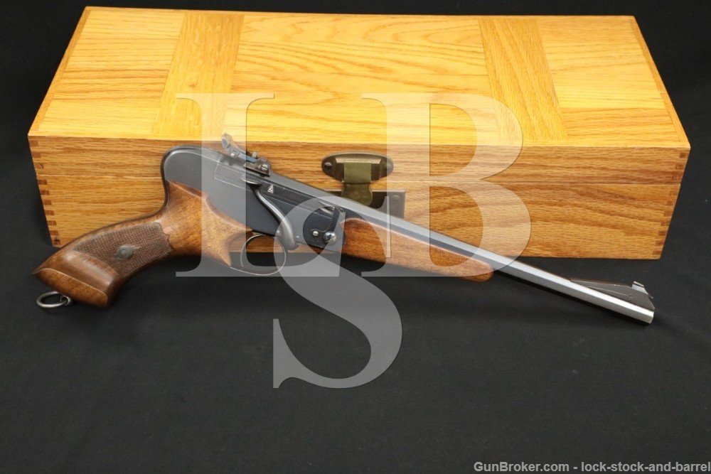 Wilhelm Foerster Berlin .22 LR Single Shot Target Free Pistol 1893-1939 C&R