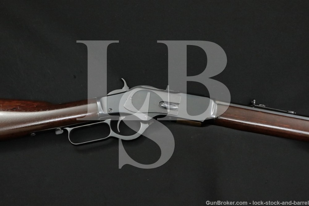 """Winchester 1873 3rd Model 24"""" Octagonal Lever Action Rifle MFD 1881 Antique"""
