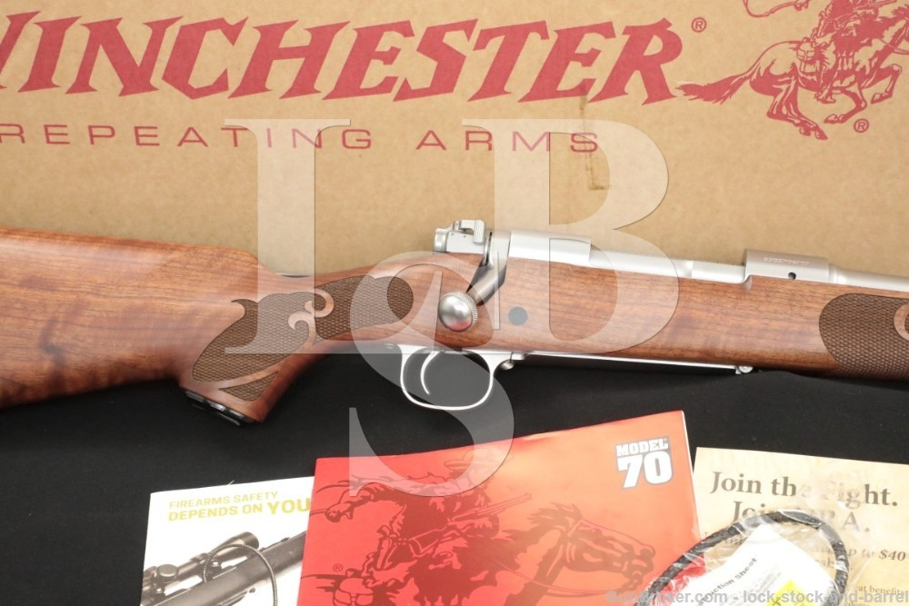Winchester 70 Classic Featherweight .30-06 Sprg Stainless Bolt Rifle, 2018