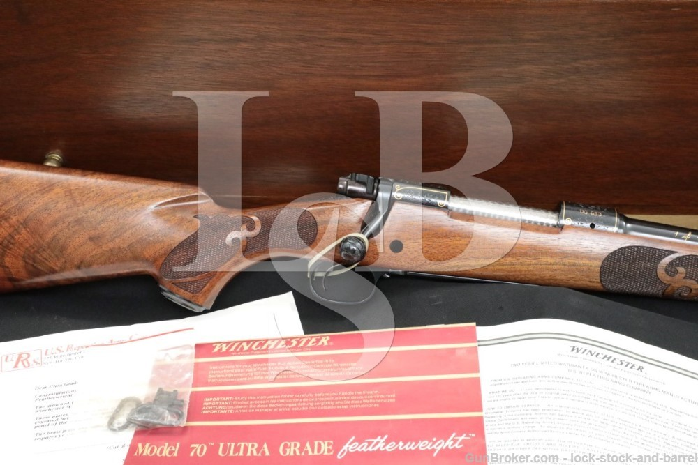 Winchester 70 Featherweight Ultra Grade 1 of 1,000 .270 Bolt Rifle, ATF C&R