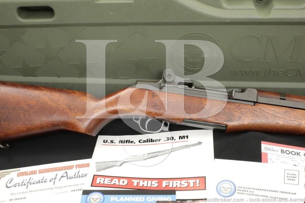 Winchester M1 Garand .30-06 Semi Automatic Rifle CMP Certificate Case C&R