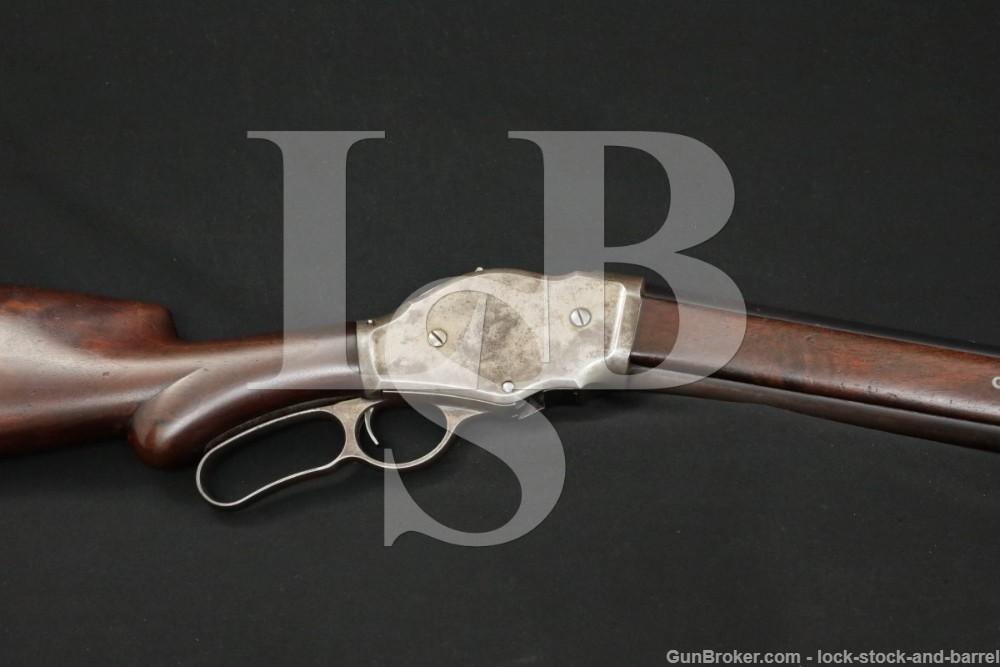 Winchester Model 1887 '87 28″ 12 GA Lever Action Shotgun, MFD 1890 Antique