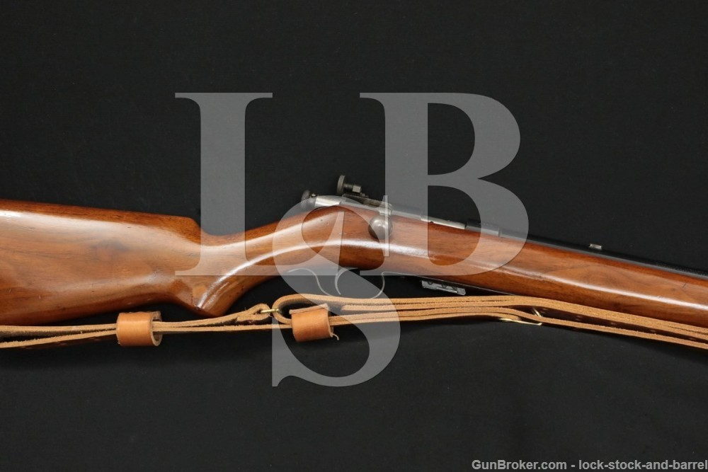 Winchester Model 57 Target .22 LR Lyman Sight Bolt Rifle, MFD 1927-1936 C&R