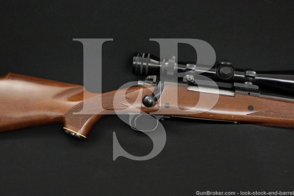 Winchester Model 70 24″ 7mm Remington Magnum Bolt Action Rifle, MFD 1980
