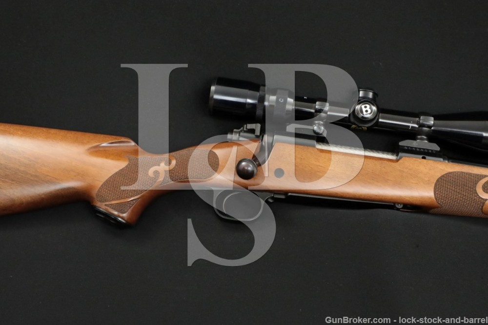 Winchester Model 70 Featherweight .30-06 Sprg Bolt Action Rifle & Scope