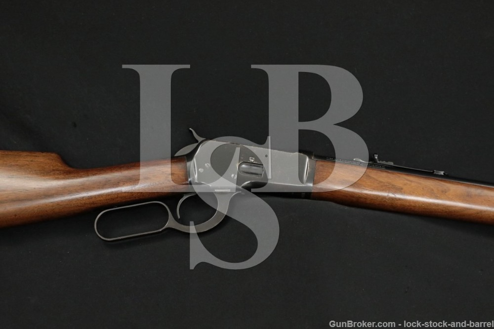 """Winchester Pre-64 1892 92 24"""" .25-20 WCF Lever Action Rifle, MFD 1930 C&R"""